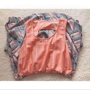 Flowy Lace Spring Dress